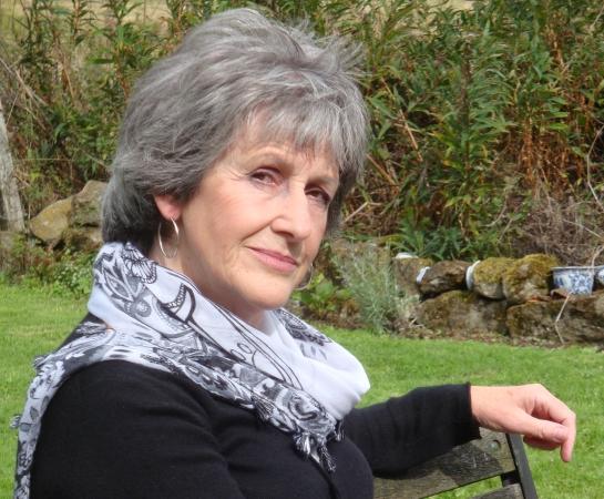 Jean in Garden