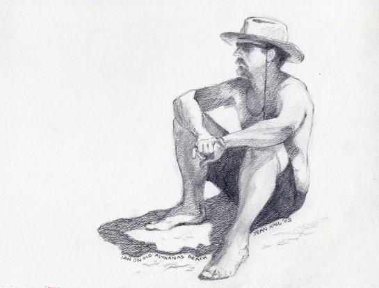 Ian on Old Alykanas Beac109