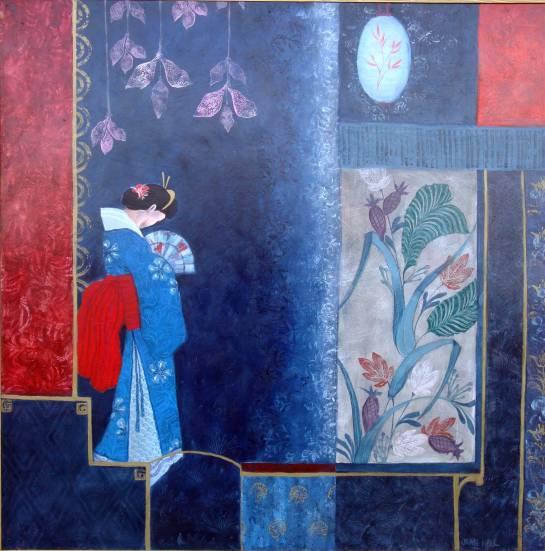 Blue Japanese Garden